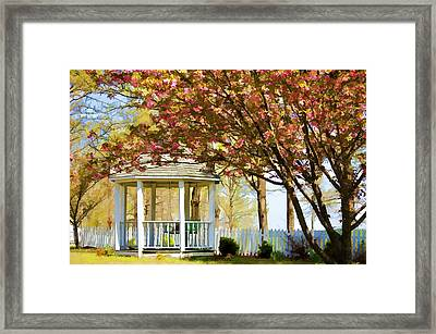Springtime Southern Style Framed Print by Dan Holland