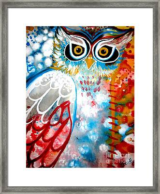 Framed Print featuring the painting Sprinkles by Amy Sorrell