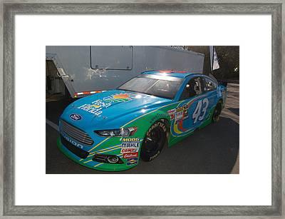 Sprint Cup Series  43 Framed Print