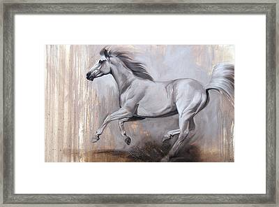Sprint Framed Print