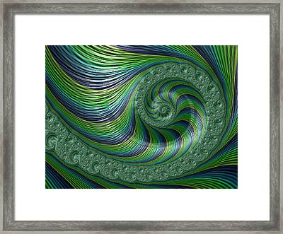 Spriral Bliss Framed Print