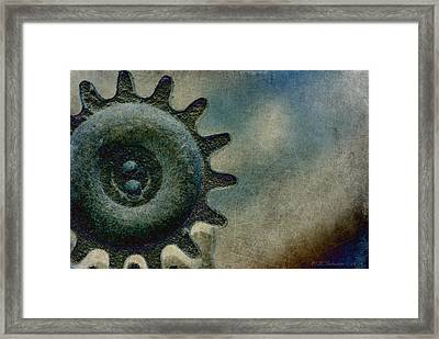 Sprocket Framed Print by WB Johnston