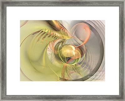 Sprouting Up Framed Print
