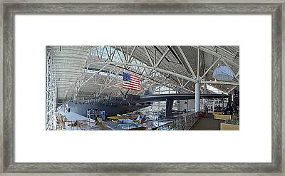 Spruce Goose Framed Print by Michelle Calkins