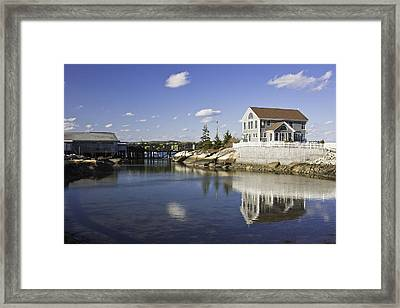 Spruce Head On The Coast Of Maine Framed Print by Keith Webber Jr