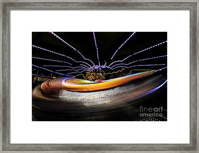 Spun Out 2 Framed Print