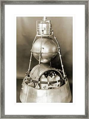 Sputnik 2 Framed Print
