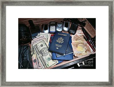 Spy Games Framed Print