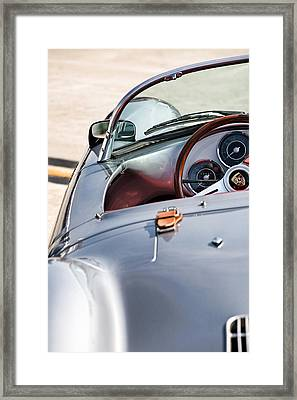 Spyder Cockpit Framed Print by Peter Tellone