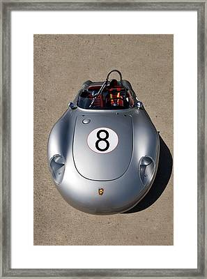 Spyder Race Car Framed Print by Peter Tellone