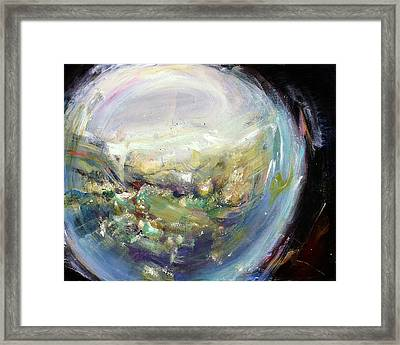 Spyglass II Framed Print by Tanya Byrd