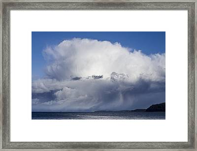 Squall  Framed Print by Darryl Luscombe