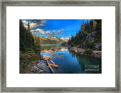 Squamish Garibaldi Lake Framed Print by Adam Jewell