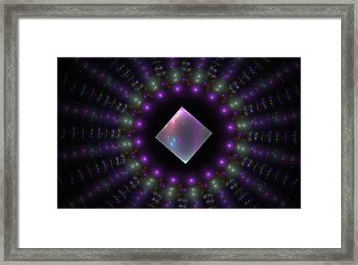 Square Peg Round Hole Framed Print