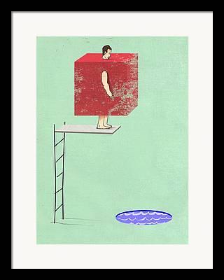 Bad Decisions Framed Prints