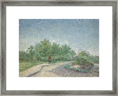 Square Saint Pierre Framed Print