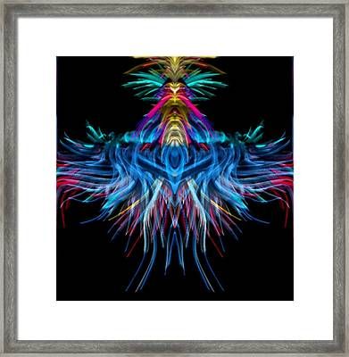 Square Space Framed Print