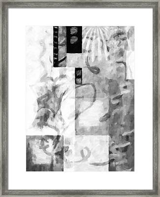 Square Framed Print by Tommytechno Sweden