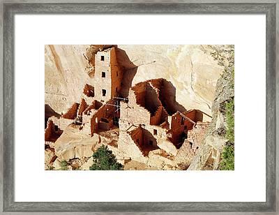 Square Tower House Framed Print