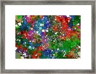 Square Universe 2 Framed Print