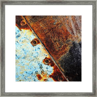 Squared Away Framed Print