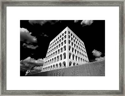 Squared Colosseum#1 Framed Print