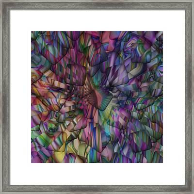Squared Framed Print by Jack Zulli