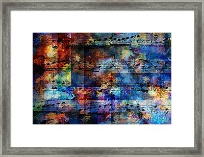 Squared Off Framed Print