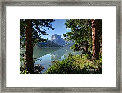 Squaretop Mountain - Wind River Range Framed Print