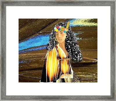 Little Squaw Piloqutinnguaq  Framed Print