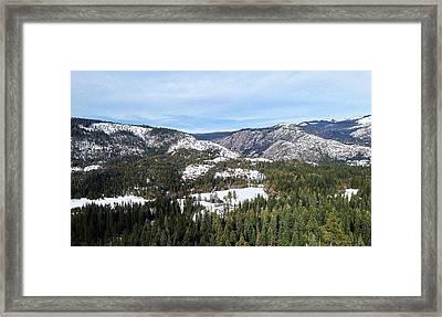 Squaw Valley Framed Print by Phil Gorham