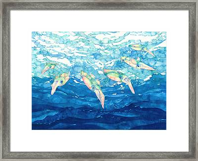 Squid Ballet Framed Print