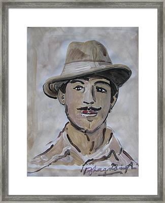 Sri Bhagat Singh Framed Print