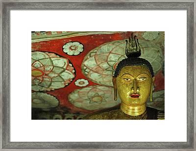 Sri Lanka, Dambulla, Dambulla Cave Framed Print