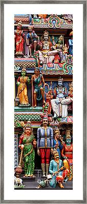 Sri Mariamman Temple 03 Framed Print