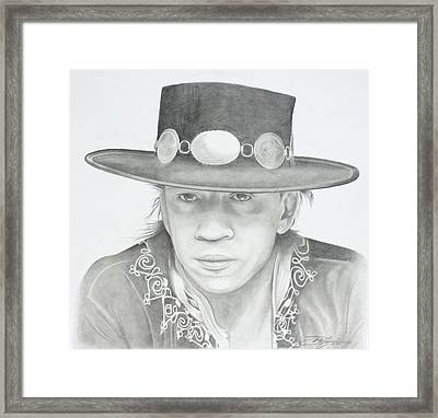 SRV Framed Print by Don Medina