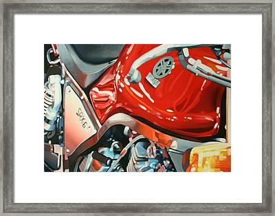 Srx-6 Side Framed Print by Guenevere Schwien