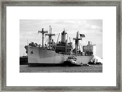 Ss American Victory Framed Print by David Lee Thompson