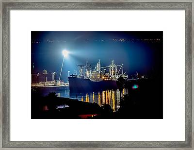 Ss Lane Victory Movie Shoot Framed Print
