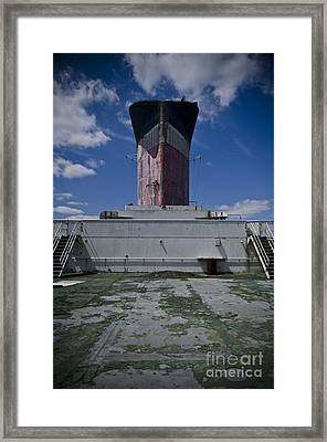Ss United States Back Deck Framed Print by Jessica Berlin