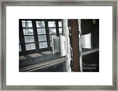 Ss United States Ballroom Doors Framed Print by Jessica Berlin