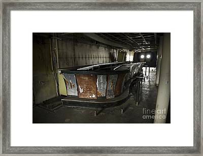 Ss United States Bar Framed Print by Jessica Berlin