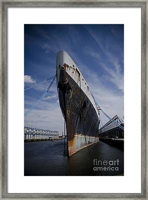 Ss United States By Jessica Berlin Framed Print