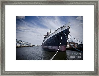 Ss United States Profile Framed Print