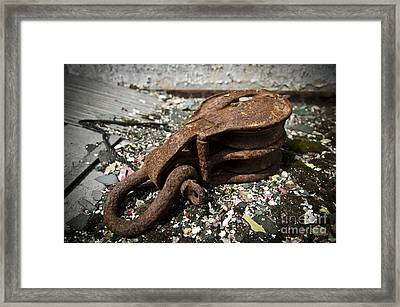 Ss United States Pulley Framed Print