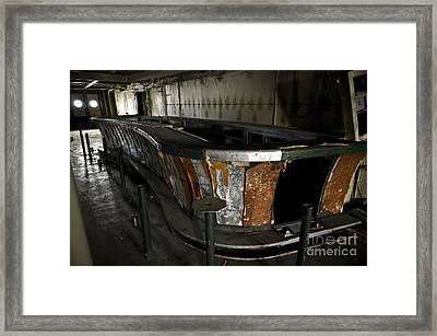 Ss United States - The Bar Framed Print