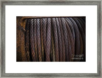 Ss Unites States Cable Framed Print