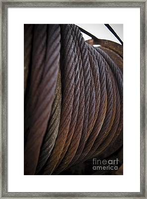 Ss Unites States Cables Framed Print