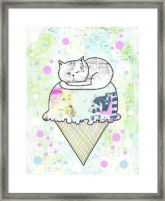 Ssprinkles On Top Framed Print by Sarah Ogren