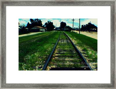 Ssrr Framed Print by Mindy Miles